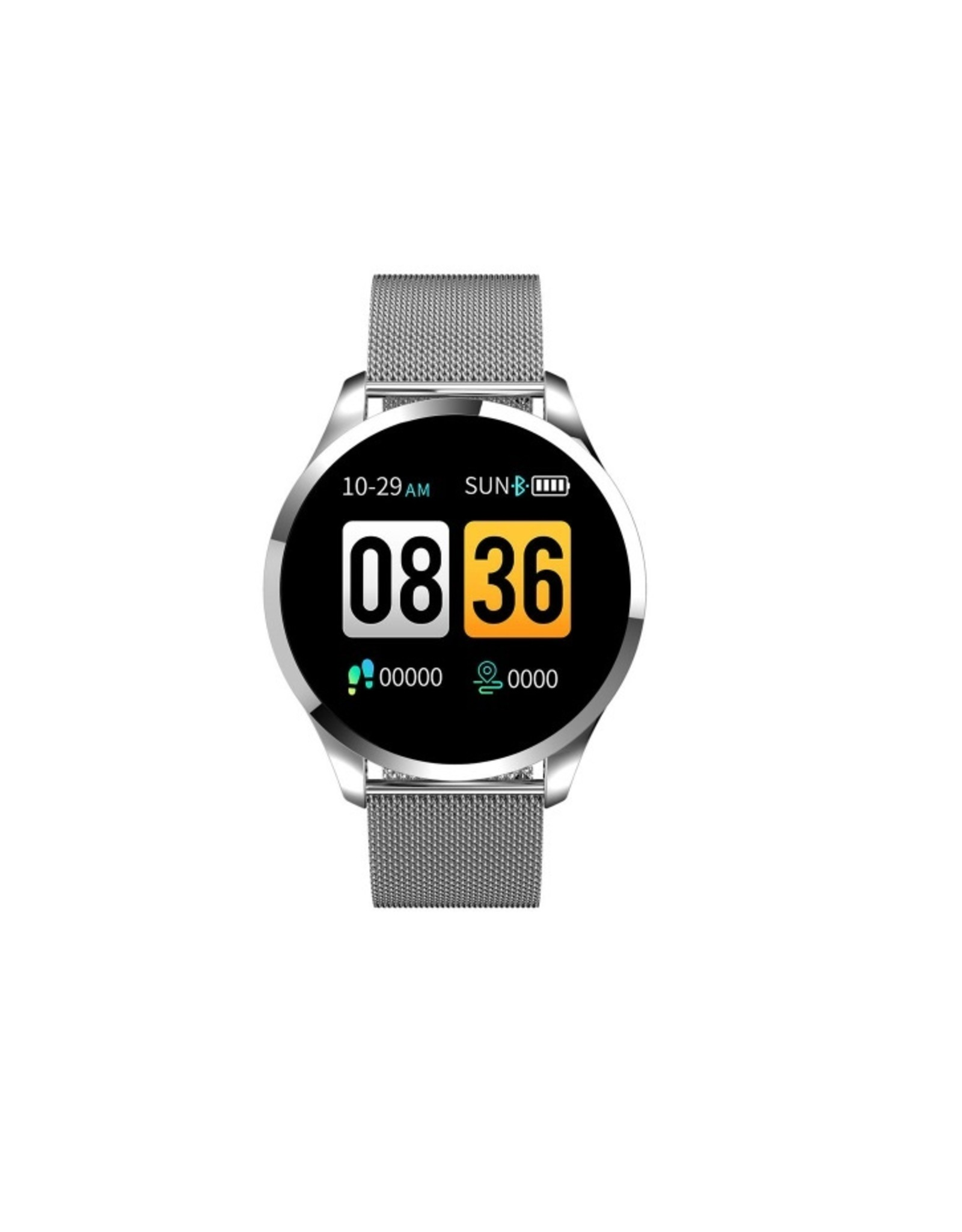 Parya Official Parya Official - Smart Watch PP69- Stainless Steel