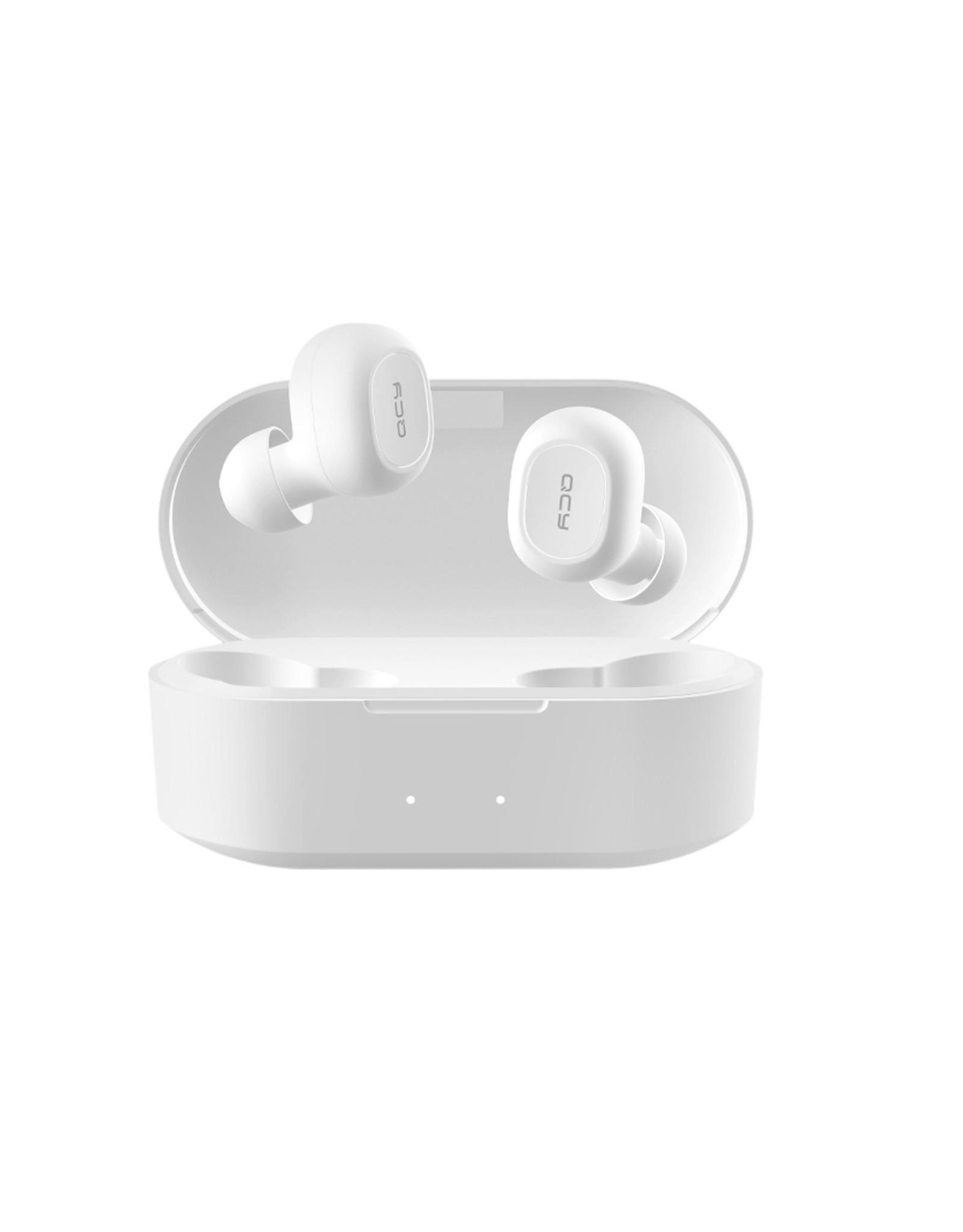 QCY T2C - Draadloze oordopjes - Wit