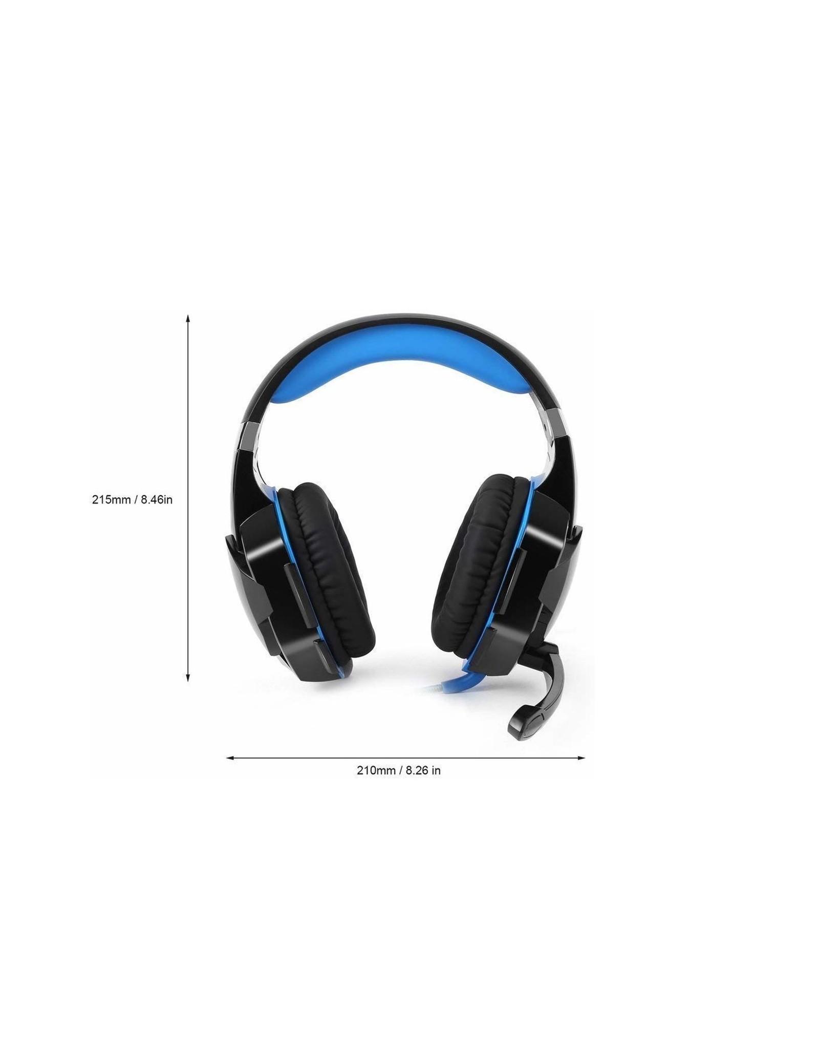 Parya Official Kotion Each G2000 - Gaming Headset - Zwart/Blauw