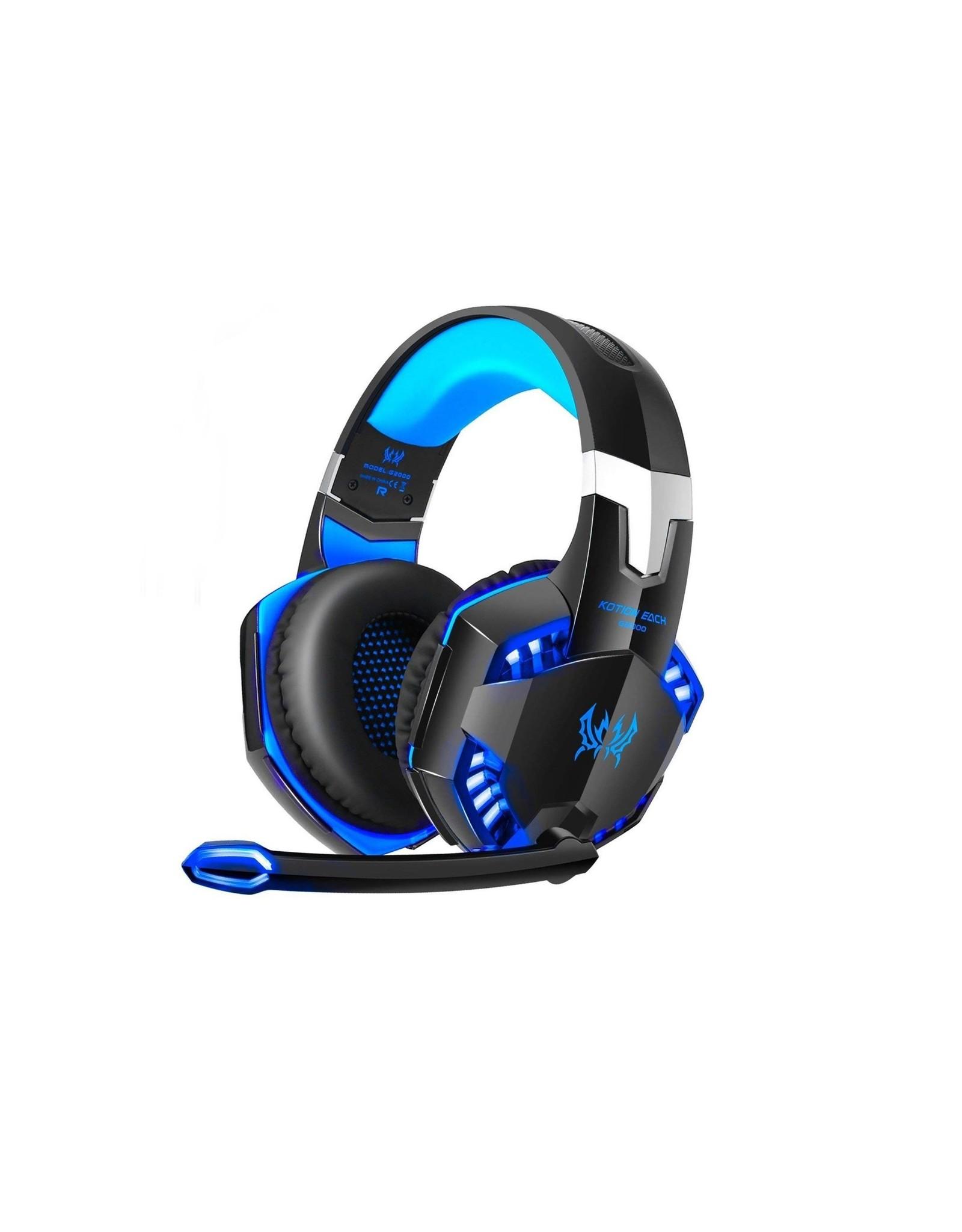 Parya Official Kotion Each G2000 - Gaming Headset - Black / Blue - EV