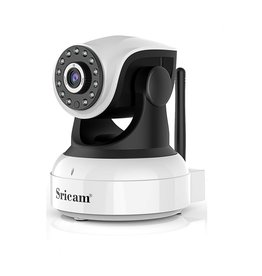 IP-camera - met bewegingsdetectie - Kunststof - Wit
