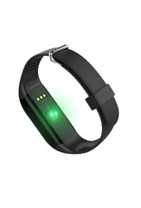 Parya Official Parya - Stappenteller met hartslagmeter - Activity Tracker / Pedometer - Zwart