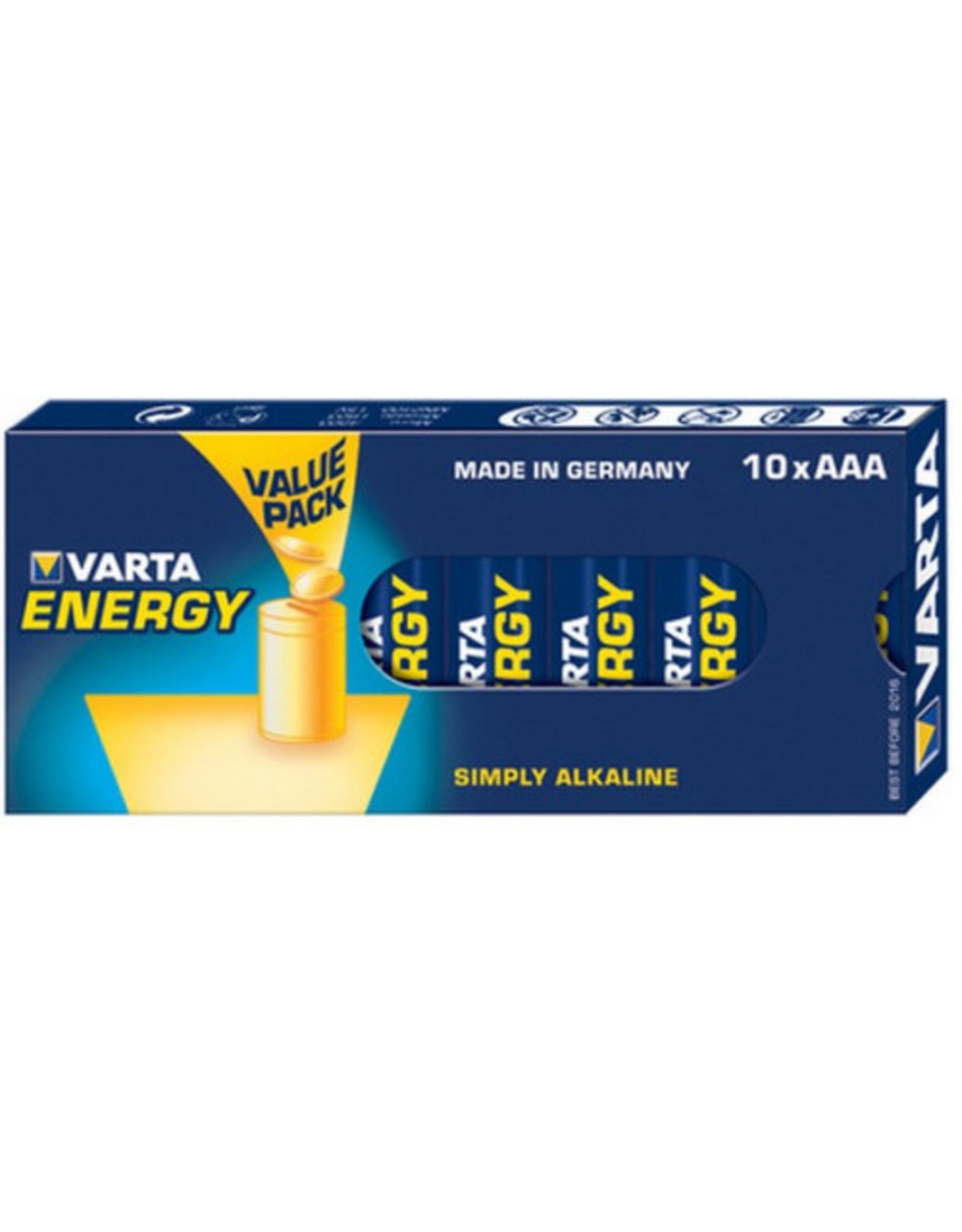 Varta Energy - Battery - 10xAAA - LR6