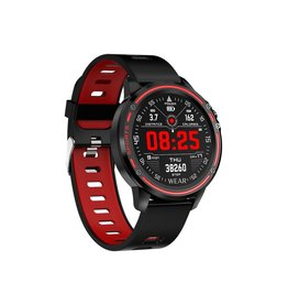 Parya Official Parya Official - Smartwatch - Wear - Red