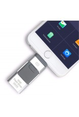 Parya Official 3-in-1 Flash Drive - With Connection For Phones