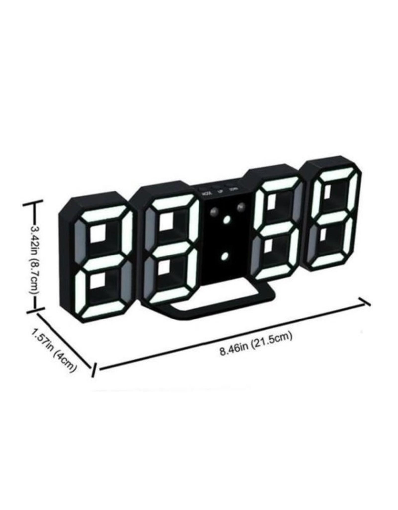 Parya Official Digital Clock - Alarm Clock