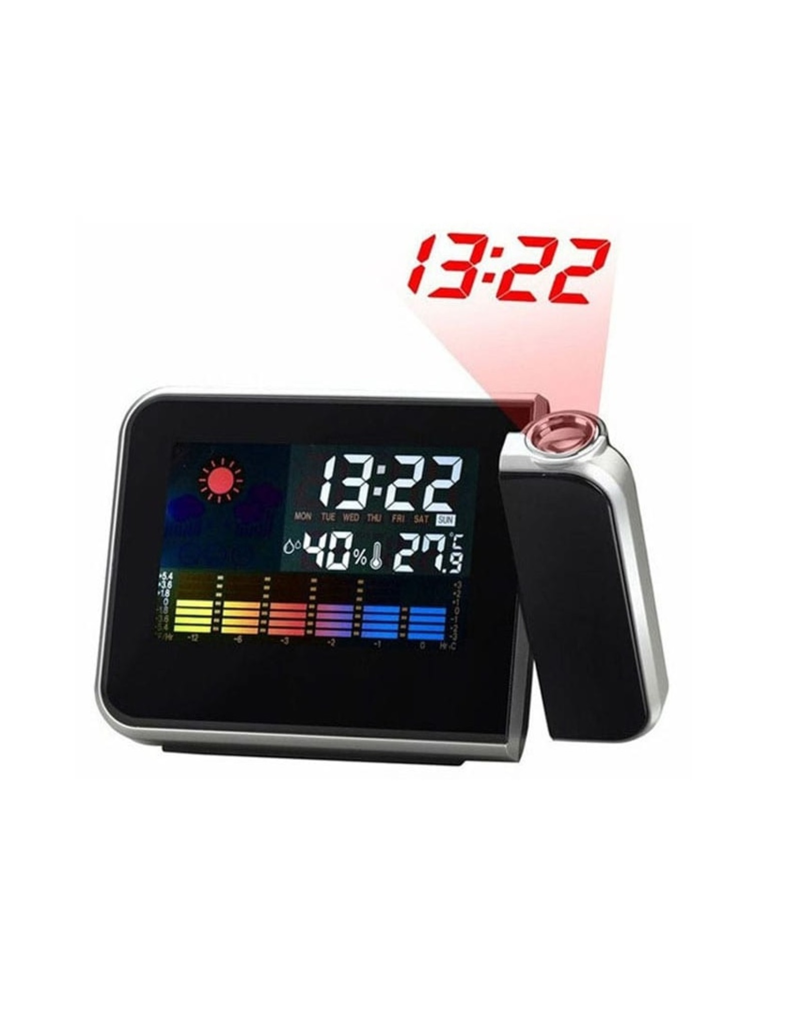 Parya Official Digital Clock - Weather Station