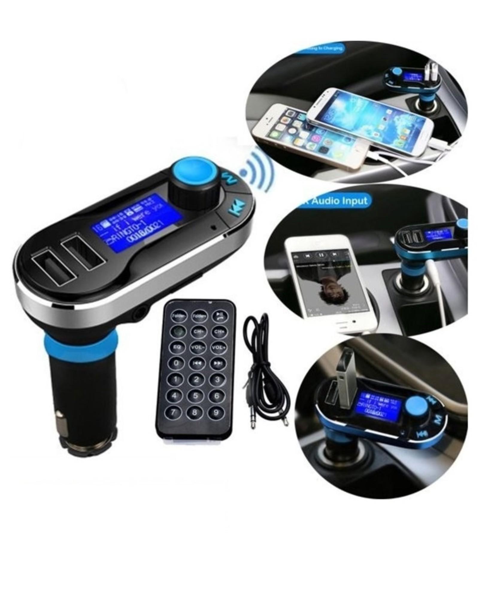 Parya Official Parya Official - Draadloze Bluetooth Carkit - Blauw