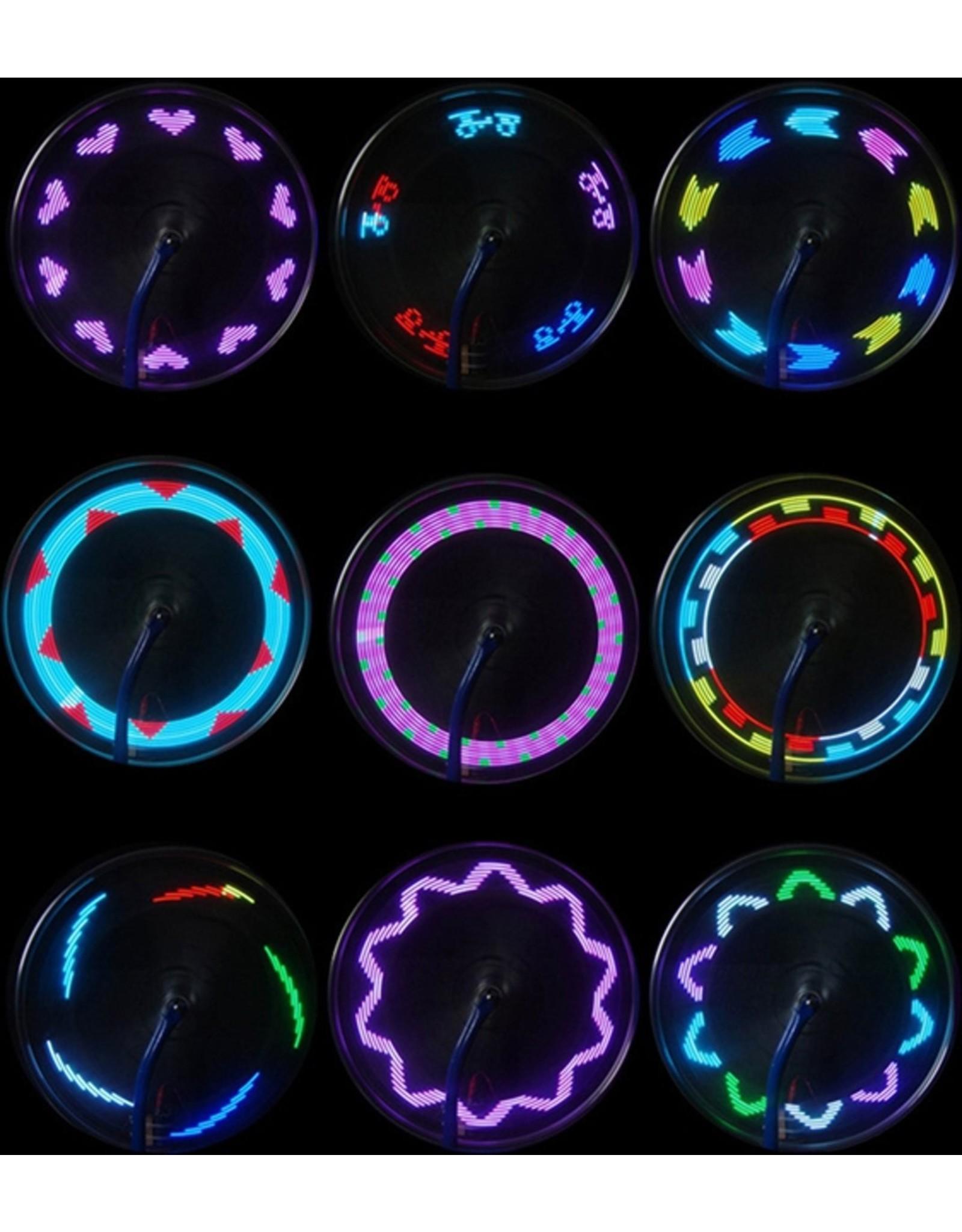 Parya Official Kleurrijke LED spaakverlichting - 2x