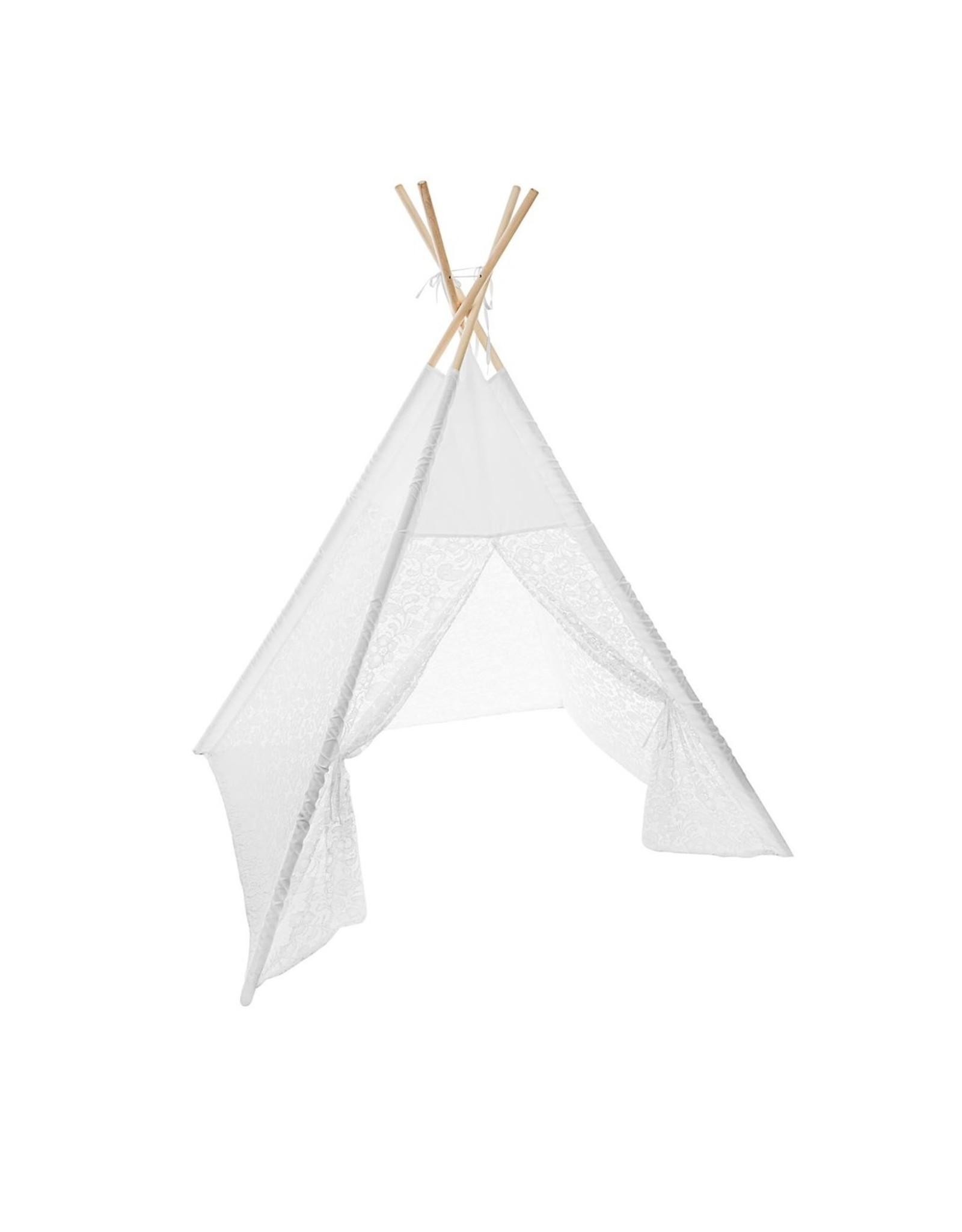 "Parya Home Parya Home - Tipi Tent -  ""Dentelia"" - Wit"