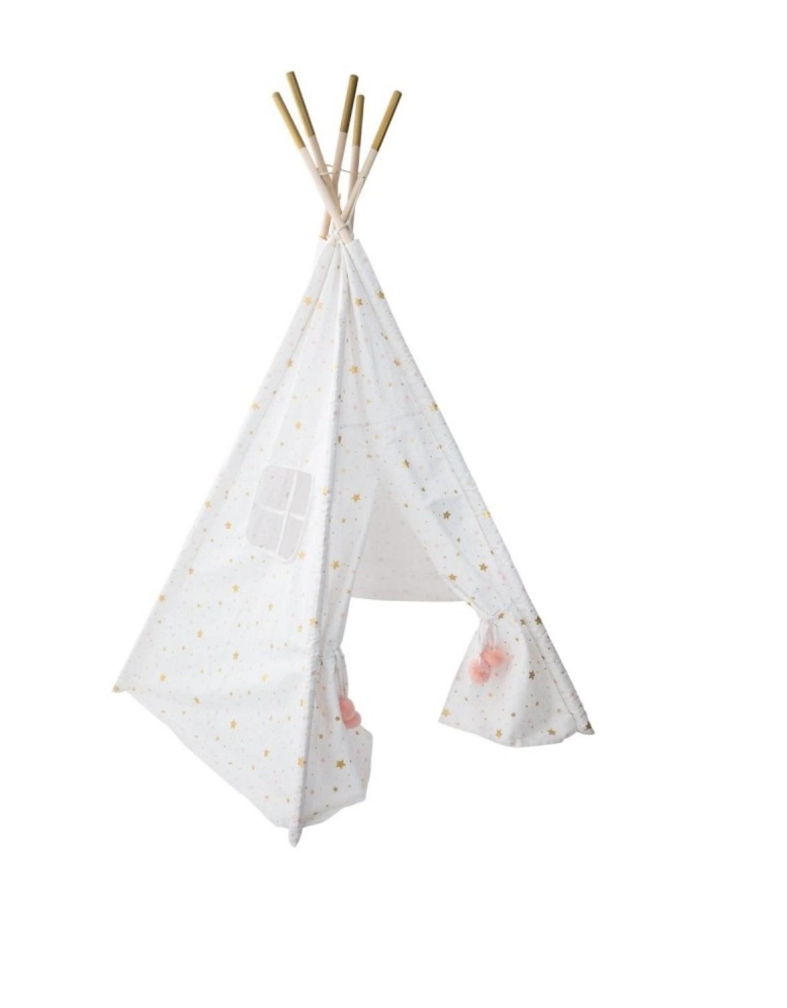 """Parya Home Parya Home - Tipi Tent - """"Starla"""" - White"""