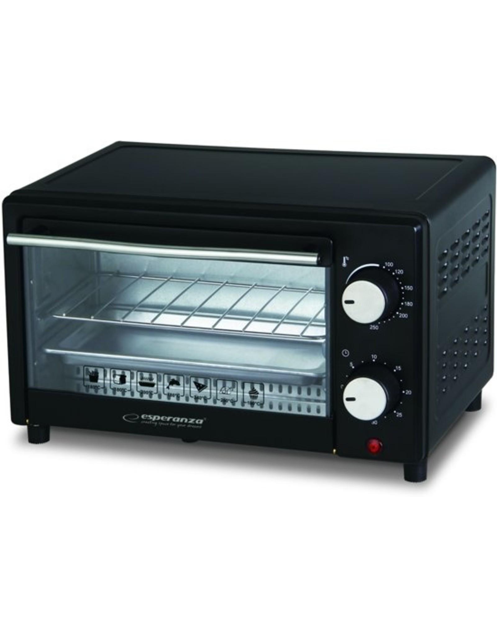 Esperanza - Mini oven - Calzone - Zwart