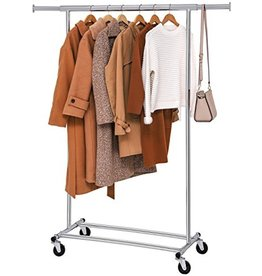 Parya Home Parya Home - Clothes rack with extendable clothes rod