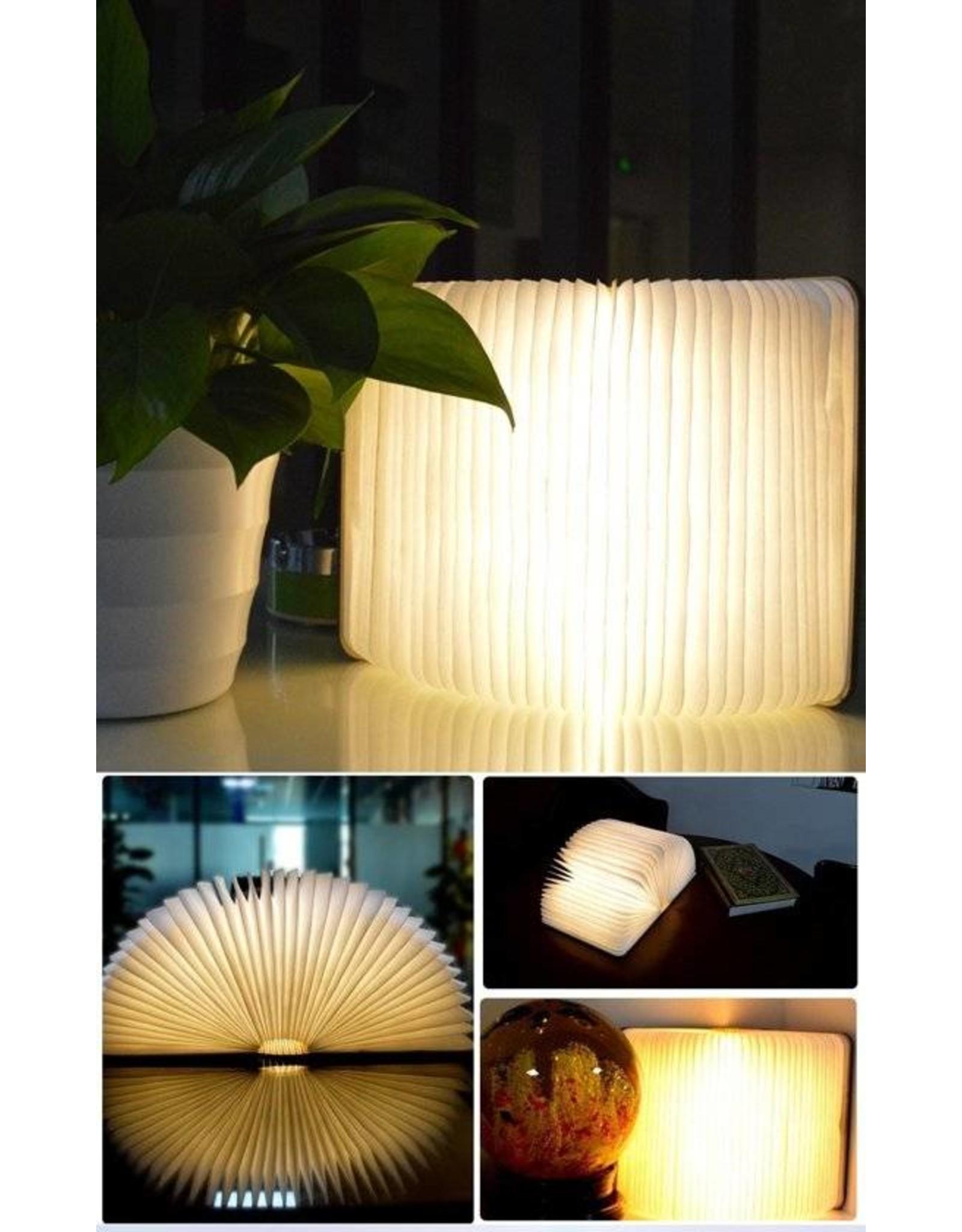 Boekenlamp usb book light donkerbruin