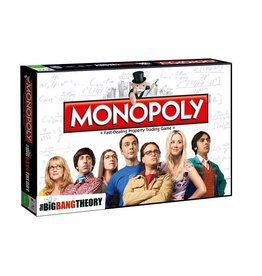 Monopoly - Big Bang Theory - Bordspel - Engelstalige Versie
