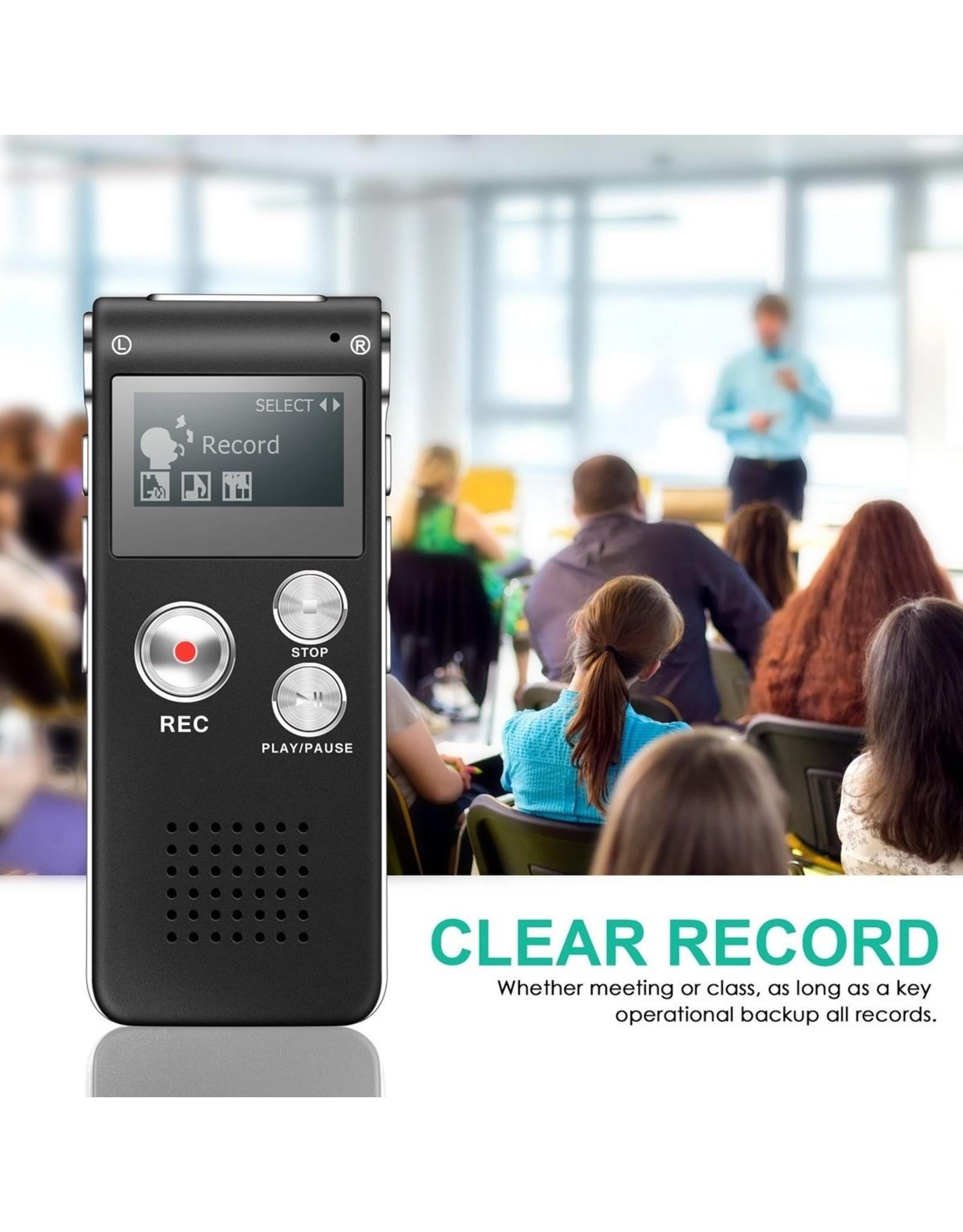 Parya Official Voice Recorder - MP3 Speler functie