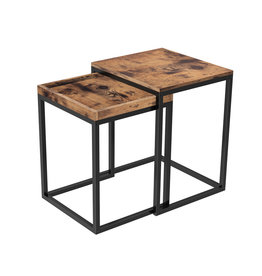 Parya Home Parya Home - Extendable side table - 2 pieces