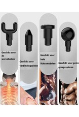 Parya Official Parya Official - Massage Gun - Extra Strong - With 4 attachments
