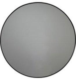 Round Metal Mirror-Black-80cm-Housevitamin