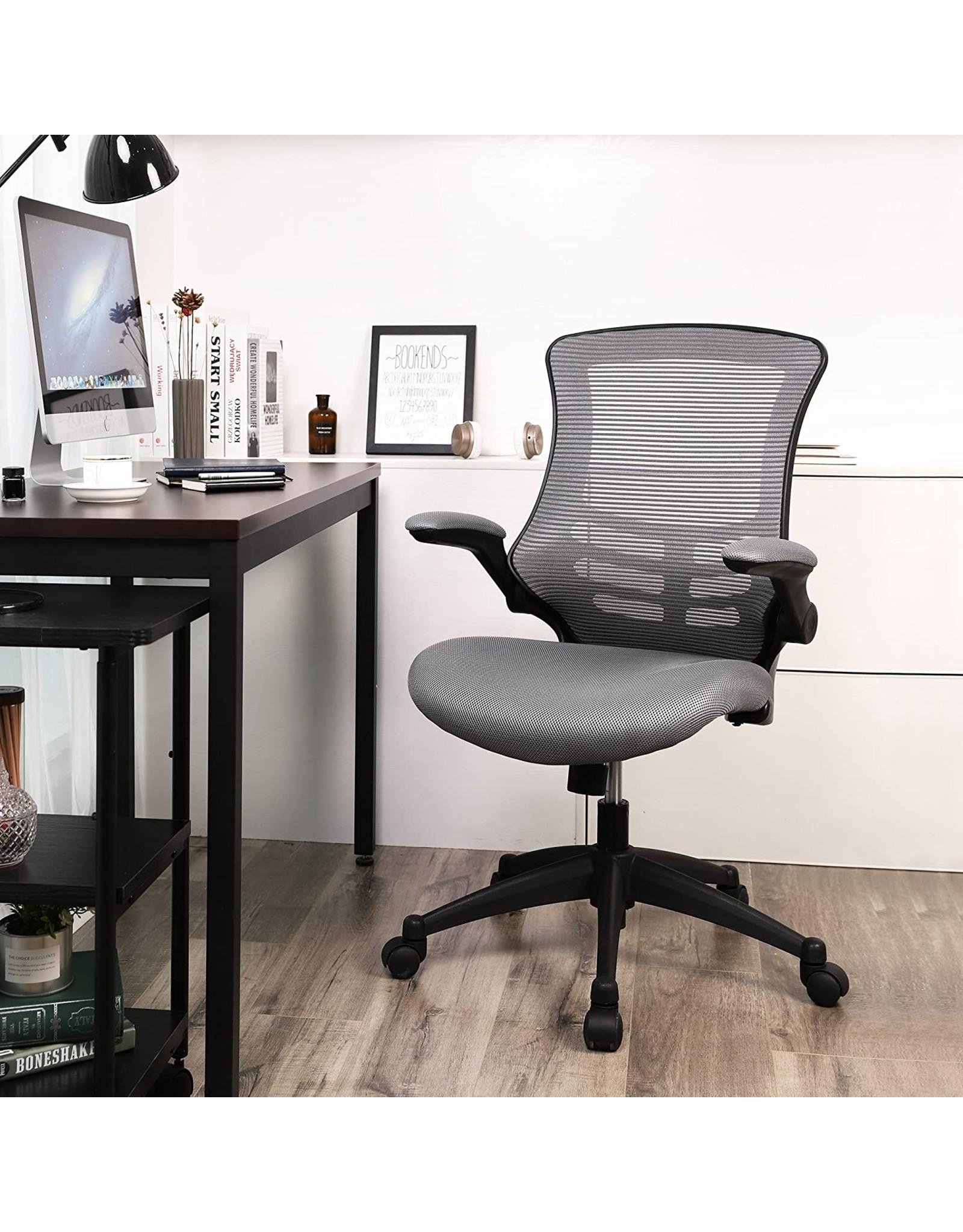 Parya Home Parya Home - Bureaustoel met Opvouwbare Armsteun