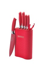 Royalty Line Royalty Line - 5-piece knife set - Red