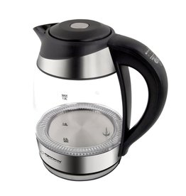 Esperanza Esperanza - Glass kettle - 1,7 Liter - Black - 2200W