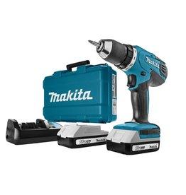 Makita Makita - Accuboormachine - 18V Li-ion - incl. 2 accu's - incl. koffer