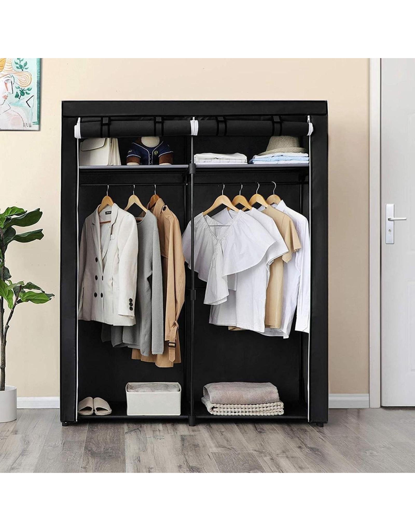 Parya Home Parya Home - Opvouwbare Garderobekast - Zwart