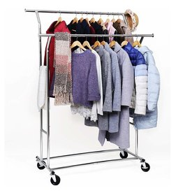 Parya Home Parya Home - Adjustable clothes rack - Silver