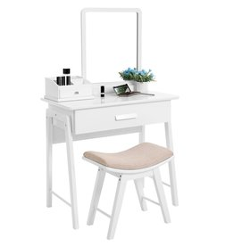 Parya Home Parya Home - Make-up Table With Mirror