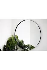 Parya Home Parya Home - Metalen Spiegel Rond - 80 cm - Zwart