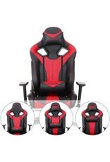 Parya Home Parya Home - Gaming chair - Up to 150 kg - Black/Red