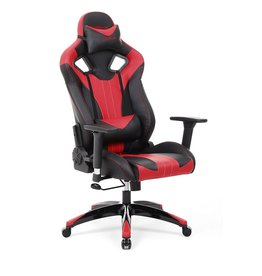 Parya Home Parya Home - Gaming chair - Up to 150 kg - Black/Red