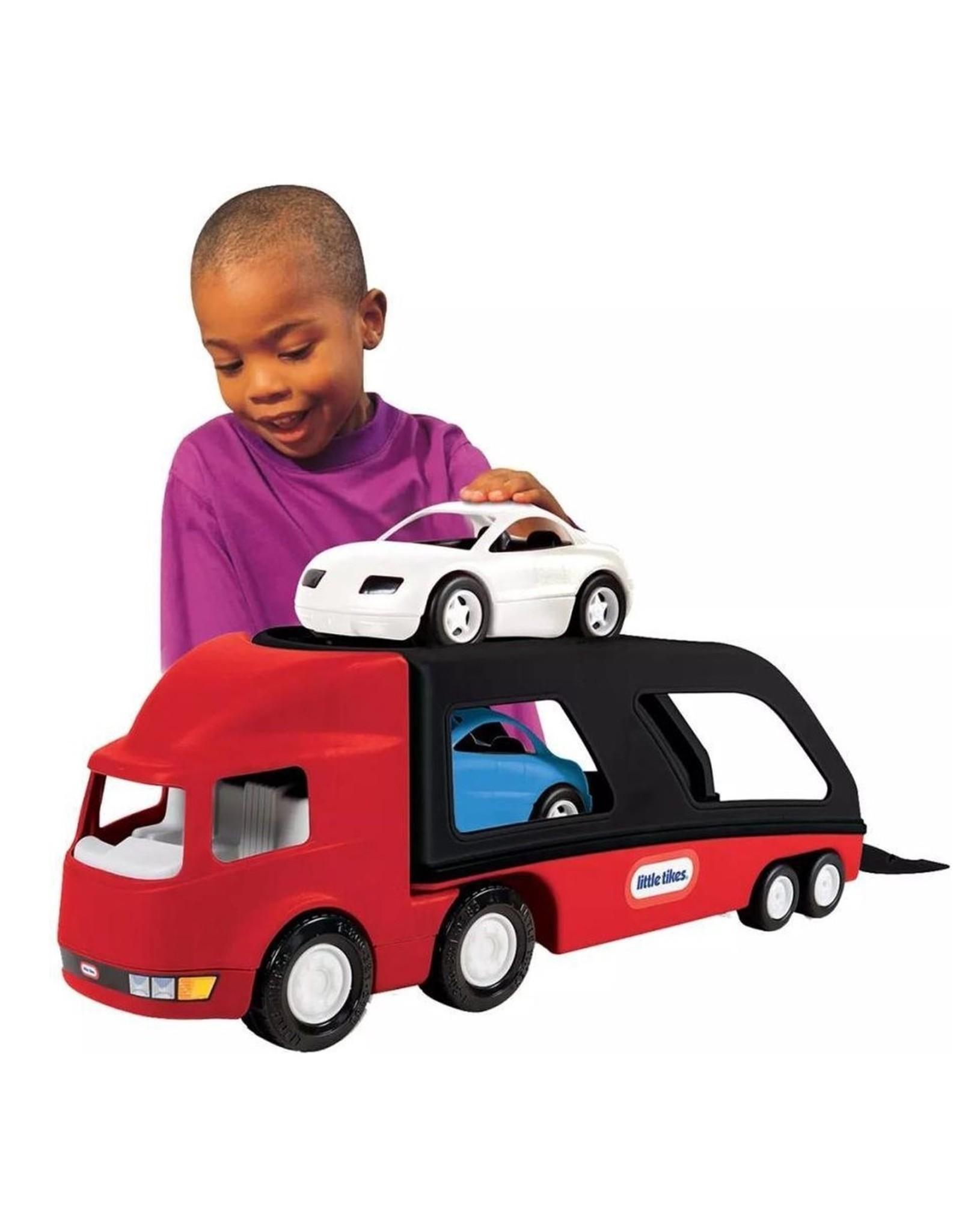 Little Tikes - Grote Autotransporter - Rood/Zwart