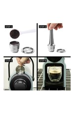 Parya Official Parya Official - Refillable Capsule - Nespresso - Stainless Steel