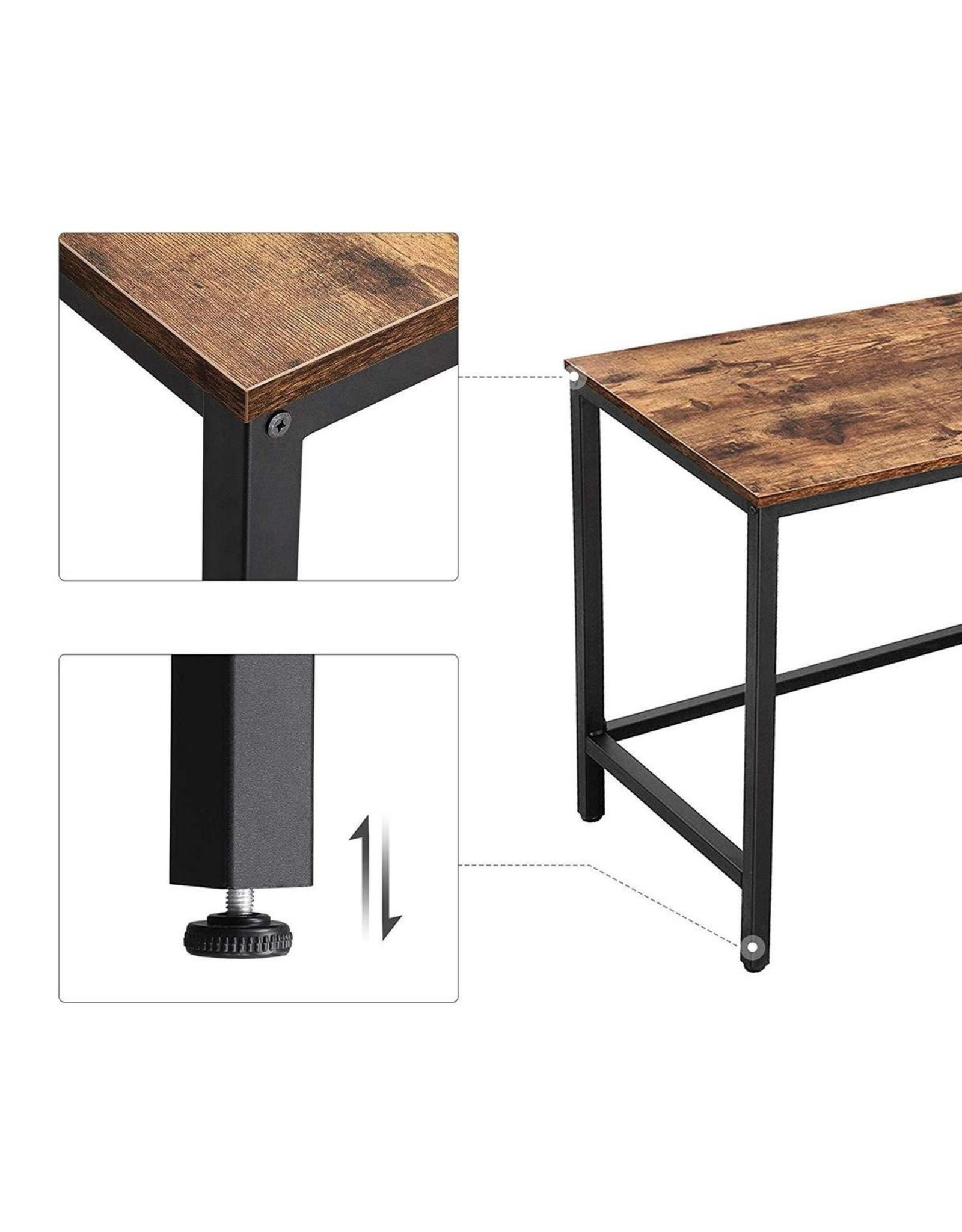 Parya Home Parya Home - Corner desk - Brown