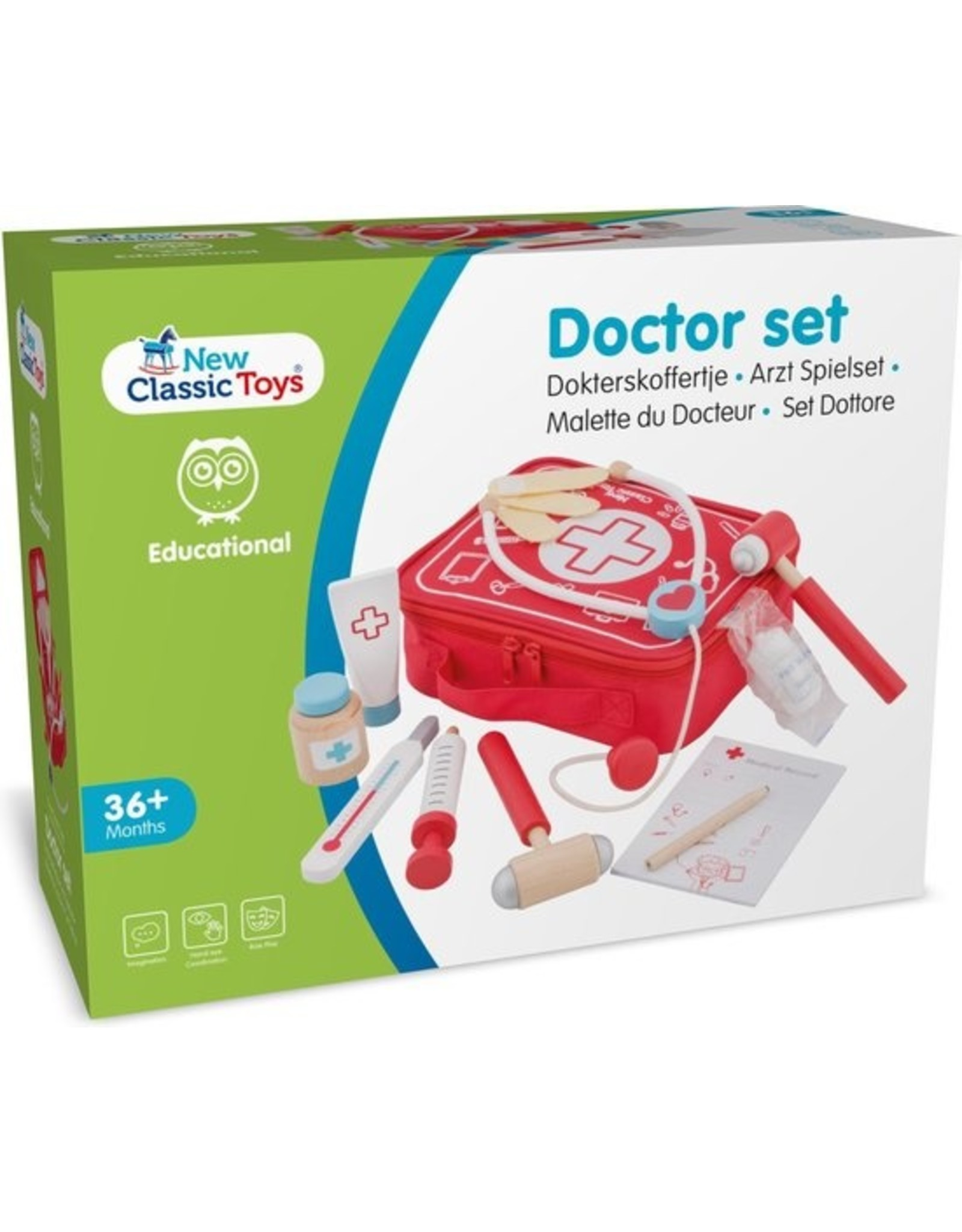 New Classic Toys - Speelgoed Dokterskoffertje