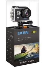EKEN H9R + Sandisk 32GB SD + Extra Accu + Borstband