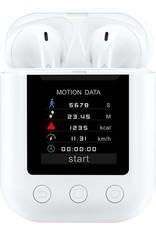 Denver TWM-850 / MP4 speler met draadloze earbuds / Oplaadhoesje