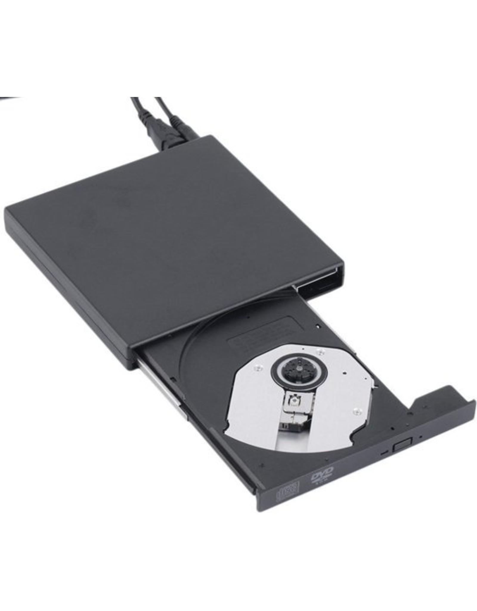 Parya Official Plug & Play Externe CD/DVD Combo Drive Speler Reader - EV