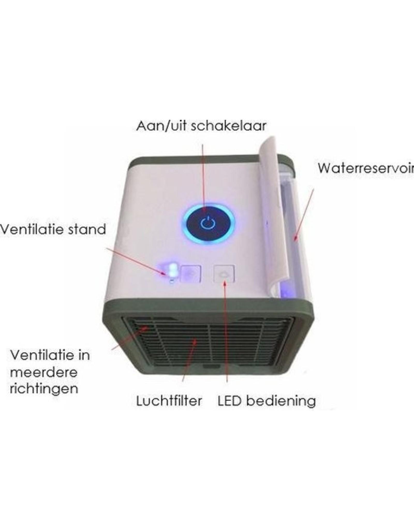 Luchtkoeler/ventilator-  EV