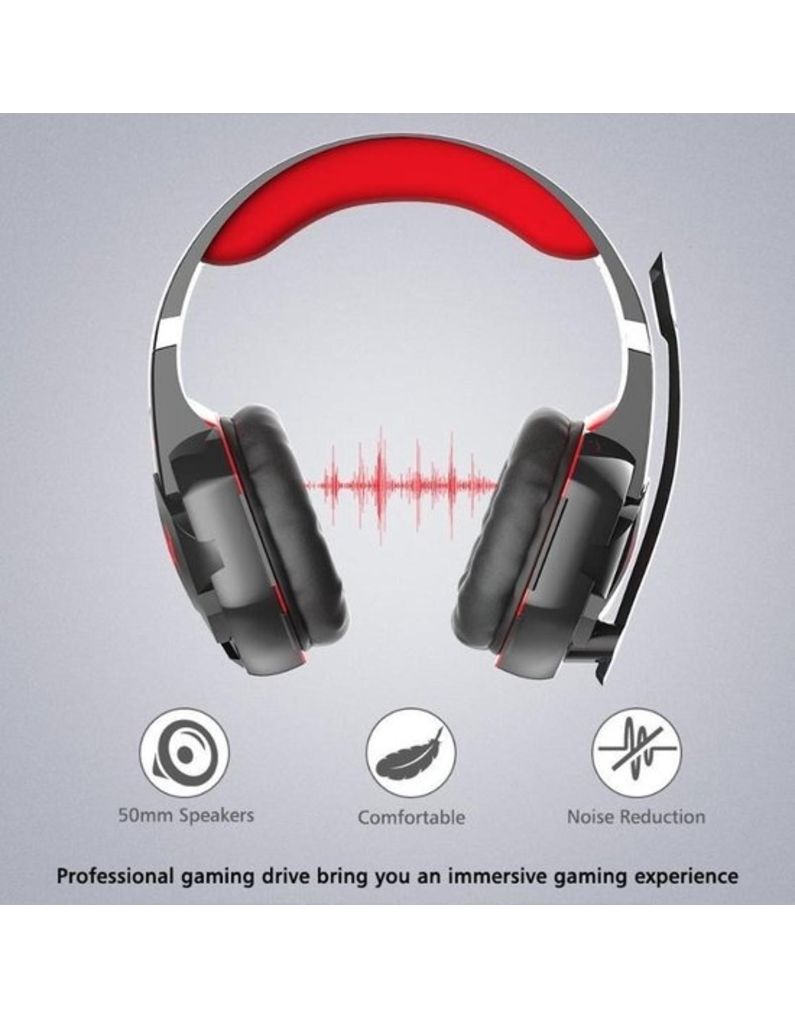 Parya Official Kotion Each - Headset - Zwart/Rood