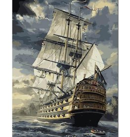 Painting by number - VOC Ship