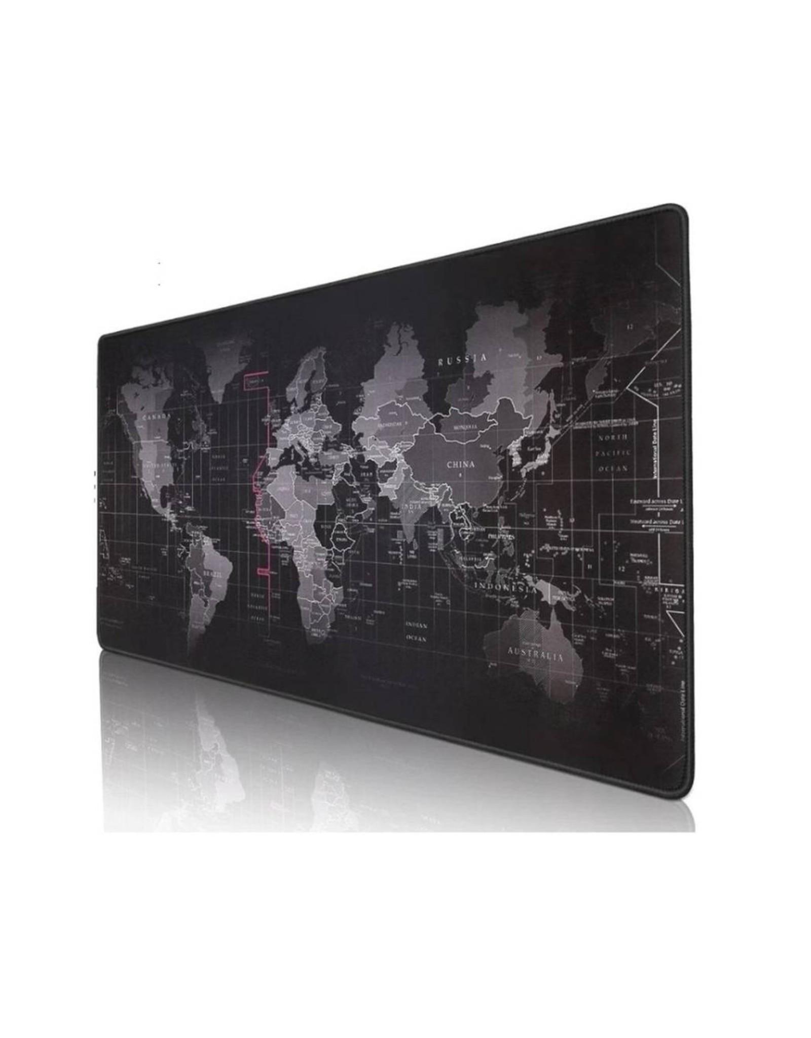 Parya Official Parya Official - Grote Muismat - XXL - Wereldkaart - 90x40 cm