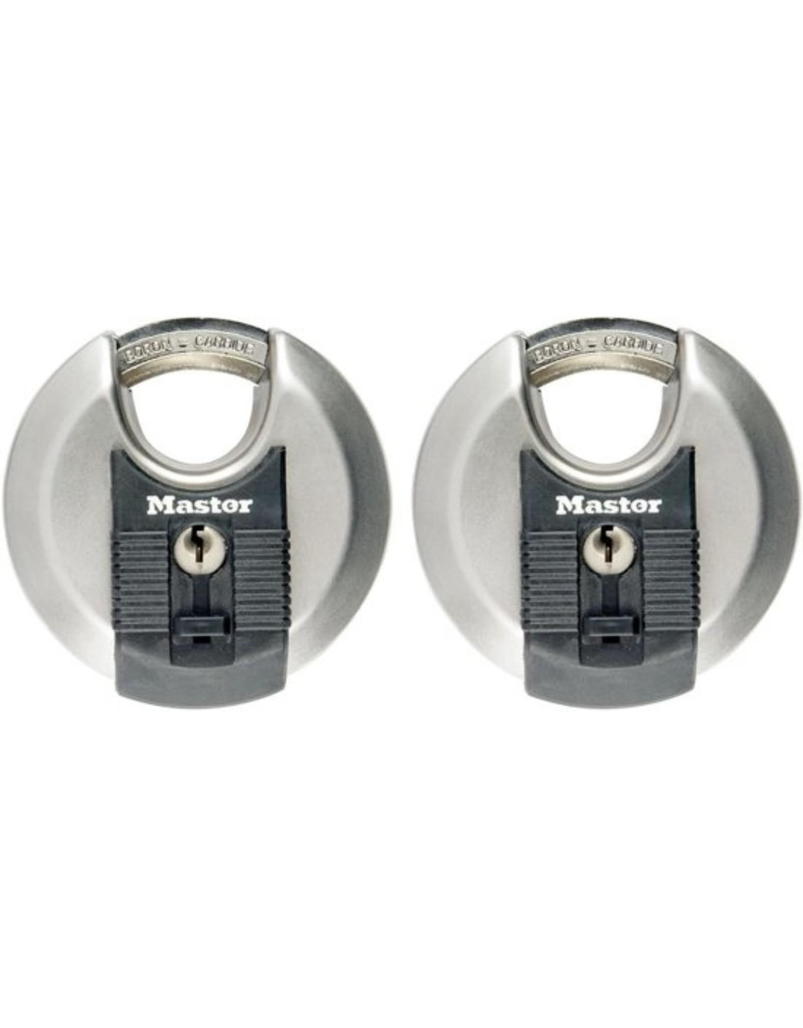 MasterLock MasterLock Excell® - Discusslot - 2 stuks - 70mm