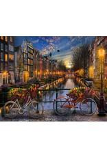 Schilderen op Nummer - Voor Volwassenen - Amsterdamse Grachten