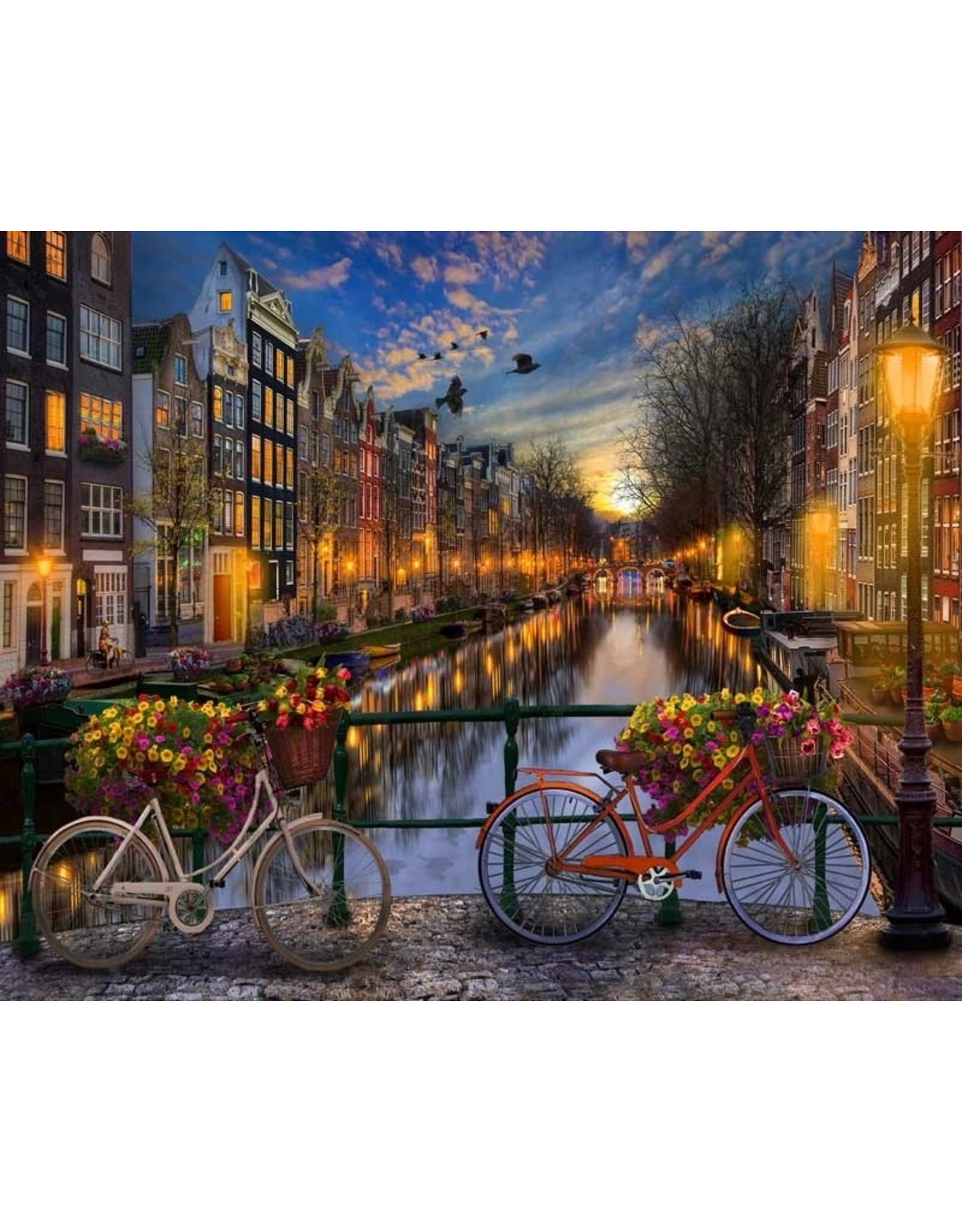 Painting on Nummer - For Adults - Amsterdam Canals