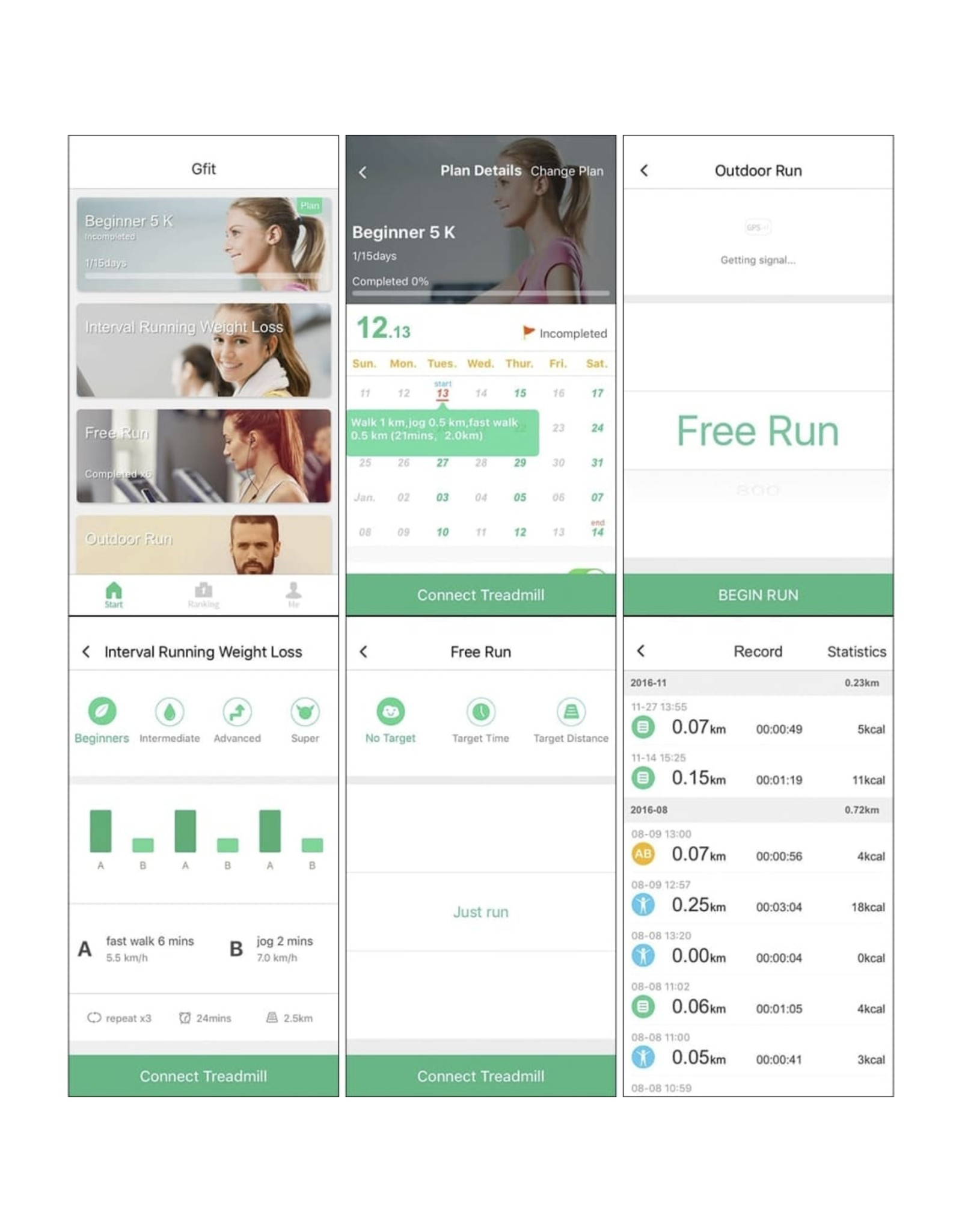Gemotoriseerde loopband 3 pk Bluetooth smartphone app