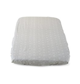 Chicco Chicco - Next2Me - Fitted Sheet for Cradle - 2 Pieces - Grey