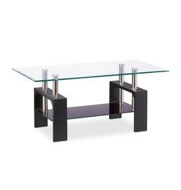 Parya Home Parya Home - Glass Coffee table - Black